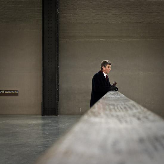 Man at Tate Modern