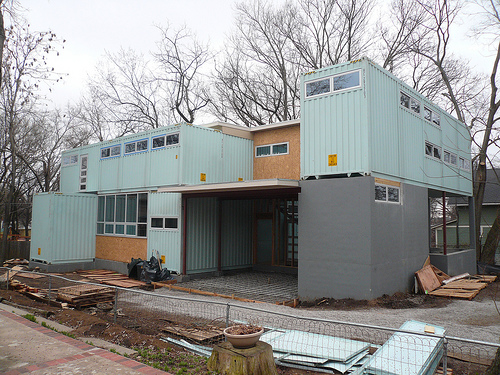 The Container Home (by: HomeContained.com)