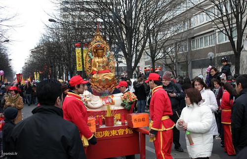 Esperons que Bouddha nous porte chance et prospérité pour 2009