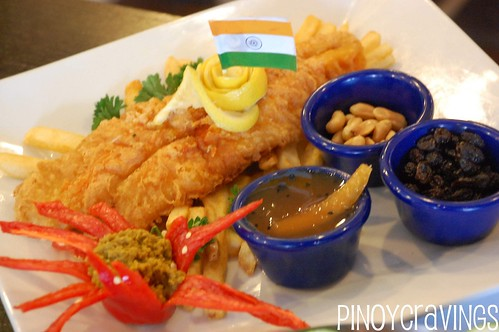 Indian Fish and Chips
