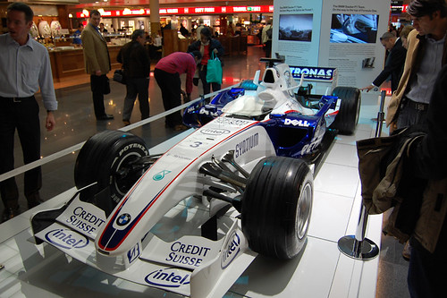 BMW Sauber F1 Racing Car