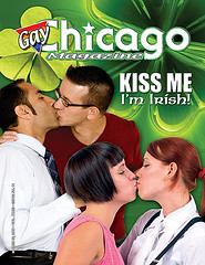Gay Chicago Magazine's St. Patrick's Day Cover