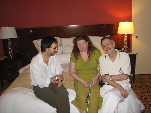 Guy Gavriel Kay, Farah Mendlesohn, & Gary Wolf