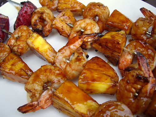 Teriyaki Shrimp Skewers