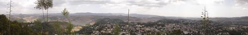 Gondar city panorama