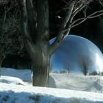 CNRC ~ Conseil national de recherche Canada / NRC ~ National Research Council Canada ~ Reflections in Gazing Ball ~ 加拿大 (#428)