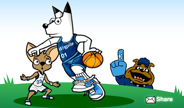 DogPile March Madness Logo