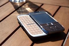 Nokia E75 under the sun QWERTY 1
