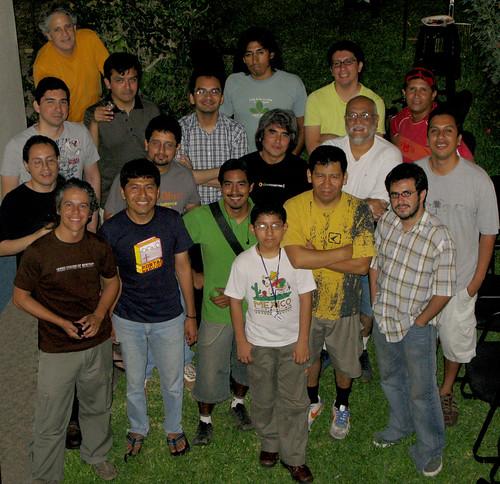 Foto de grupo - Febrero de 2008