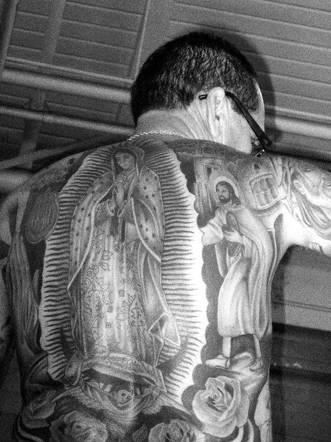 Virgin Mary Tattoo Backpiece | Flickr - Photo Sharing!