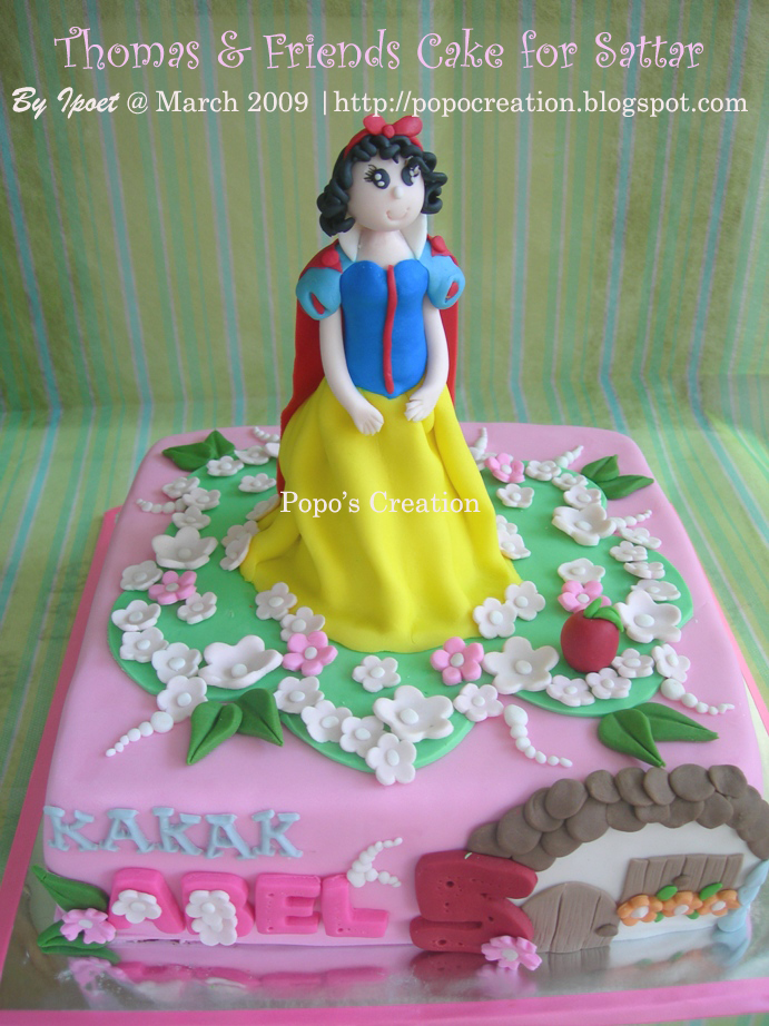 Snow White  Princess Cake for Abel