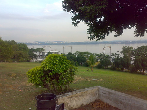 tebrau straits from Sultan Abu Bakar Mosque