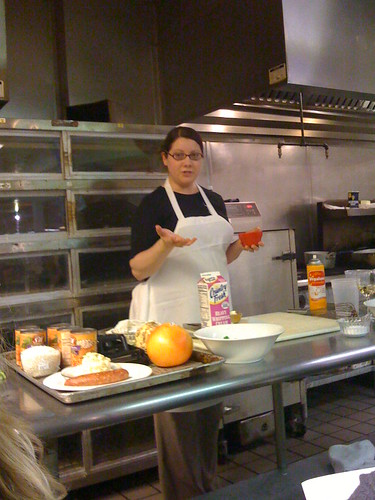 Lisa Dillman (Restaurant Widow) at the Hills Market