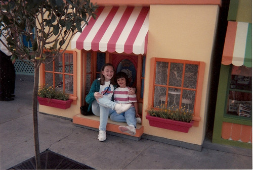 Lindsey and I in front of Daisy(?)'s House