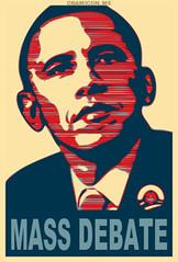 Geddit? Geddit? (rubber rat productions) Tags: badpun obama obamarama obamicon