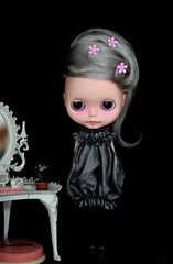 Memory (Ragazza*) Tags: hollywood memory mohair airbrush ebl customdoll blythestudio handmadeballoondress