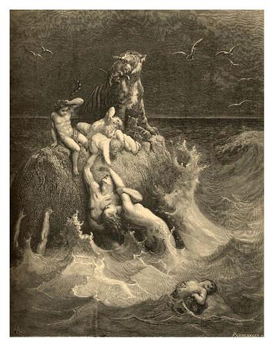 002-El diluvio-Gustave Doré