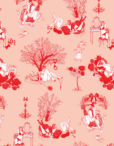 *new* Sexy Toile Pattern