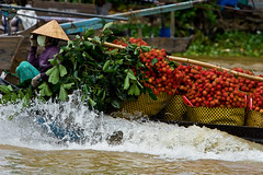 Mekong Delta Floating Market, Vietnam (justin feigelman) Tags: river asia southeastasia vietnam mekongdelta mekong floatingmarket indochina canonef70200mmf28lisusm lpfloating
