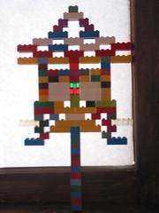 Gavin's lego creation