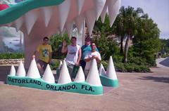 students at Gatorland