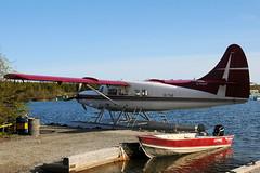 pl15juin09tindidhc31 (lanpie012000) Tags: bush seaplane yzf airtindi cfzdv plyzfjune09 dhc3turbootter