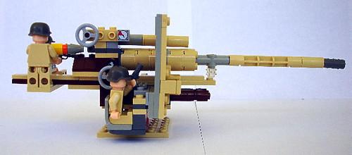LEGO FlaK 88/36 V4, 2