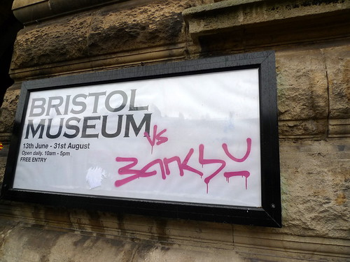banksy vs bristol museum by you.