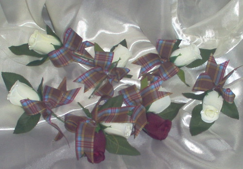 *andrea728 bh/crg* 5 x b/holes & 2 x corsage with anderson tartan by you.