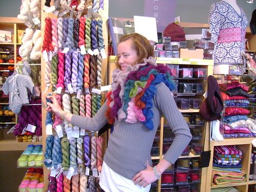 swirl scarf mane