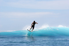 Done riding the wave at Teahupoo, Tahiti. (cookiesound) Tags: ocean life trip travel blue summer vacation people holiday man men travelling sports water sport canon photography reisen surf waves break colours action surfer urlaub tube barrel cyan wave surfing canoneos20d surfboard tahiti canoneos surfphoto extremesport poeple reise bigwaves bigwavesurfing sportaction frenchpolynesia travelphotography traveldiary travelphotos barrelriding reisefotografie teahupoo waveriding hugewaves surfphotography hugewave reisetagebuch surfculture surfphotographer tubesurfing reisebericht wavesurfing wavesurfer surfingphotography surfingphoto travellifestyle cookiesound peoplesurfing surfingtahiti surfpicture nisamaier surfingteahupoo ulrikemaier surferteahupoo surfingpicture ridingteahupoobarrel tubesurfer