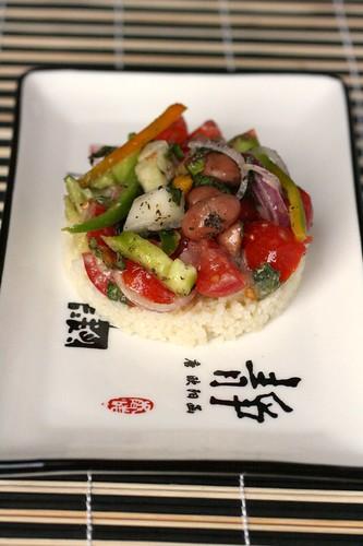 Cous cous con insalata di verdure