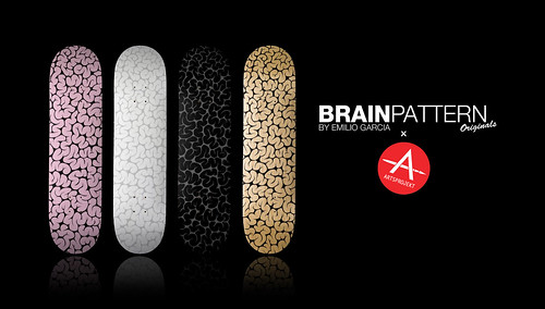 Brain Pattern v1 Decks by Emilio Garcia