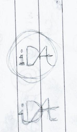 i-Dat Logo Idea (Scribbles)