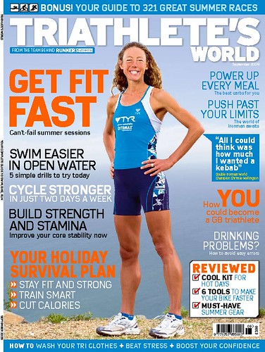Triathlete's World Cover