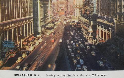time square in 1940