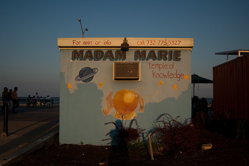 Madame Marie's.