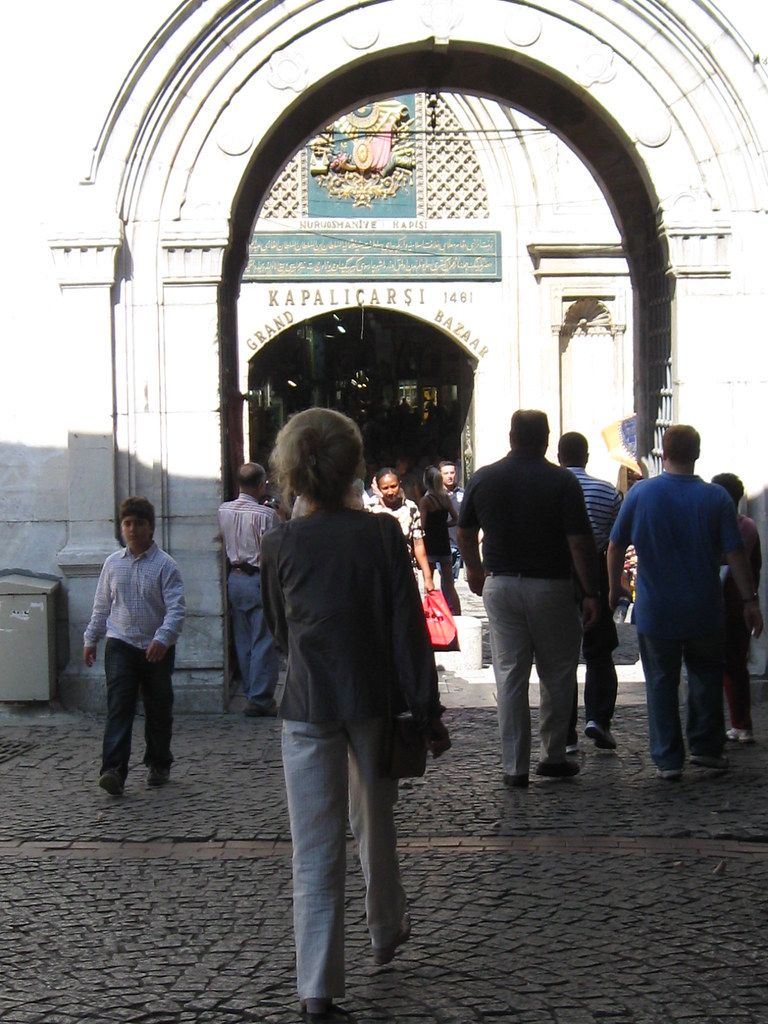 Entrance to the Grand Bazaar, Istanbul