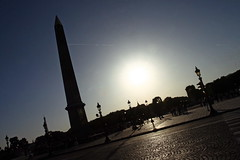 Paris - Place de la Concorde (bibendum84) Tags: sun paris square soleil place concorde piazza sole prada obelisco placedelaconcorde alessandro parigi obelisque controsole