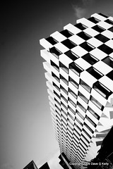 18 Story 3D Checkerboard (Dave G Kelly) Tags: ireland bw dublin irish building architecture modern hotel design blackwhite 3d contemporary perspective highcontrast architectural architect checkerboard innovative explored i500 manuelairesmateus davegkelly