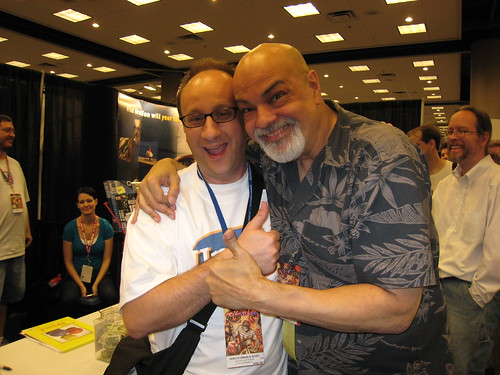 Dragon*Con - Shag and George Perez