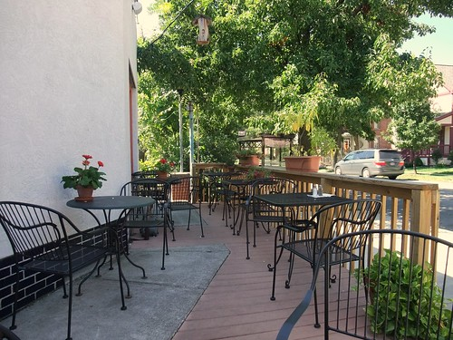 Patio at Cafe Corner