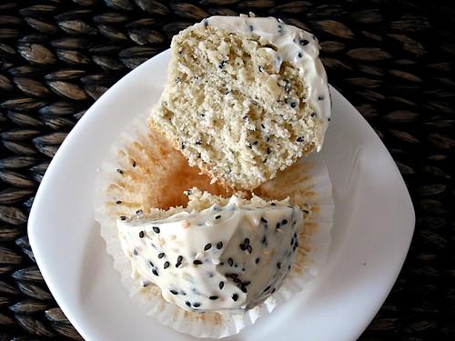cut open cupcake