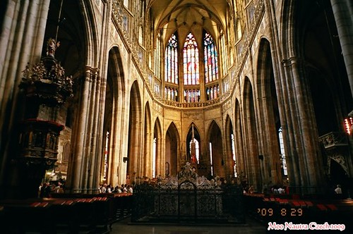Natura 那秋。Czech 聖維特教堂-12