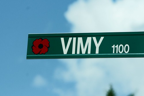 WWI & II Windsor Streets - Vimy