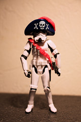 Pirate of the Corellian (Stfan) Tags: hat toy actionfigure starwars stormtroopers pirate chapeau stormtrooper figurine arrr jouet talklikeapirateday playmobil ahoy jollyroger hasbro project365 stormtroopers365 yaarg