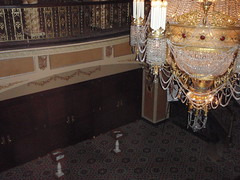 Lobby Chandalier - Upper View (Carrie and Charles) Tags: wedding genesee venues genessetheatre