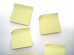 Storyboarding by Post-its