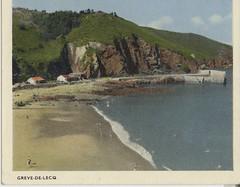 Грев де Лек. Старинная открытка острова Джерси.