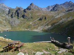 Lac de Louvie (Olivier Bruchez) Tags: lake switzerland europe suisse lac wallis valais bagnes entremont louvie